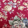 Grafton floral linen fabric