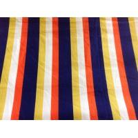 Edinburgh Weavers striped cotton fabric